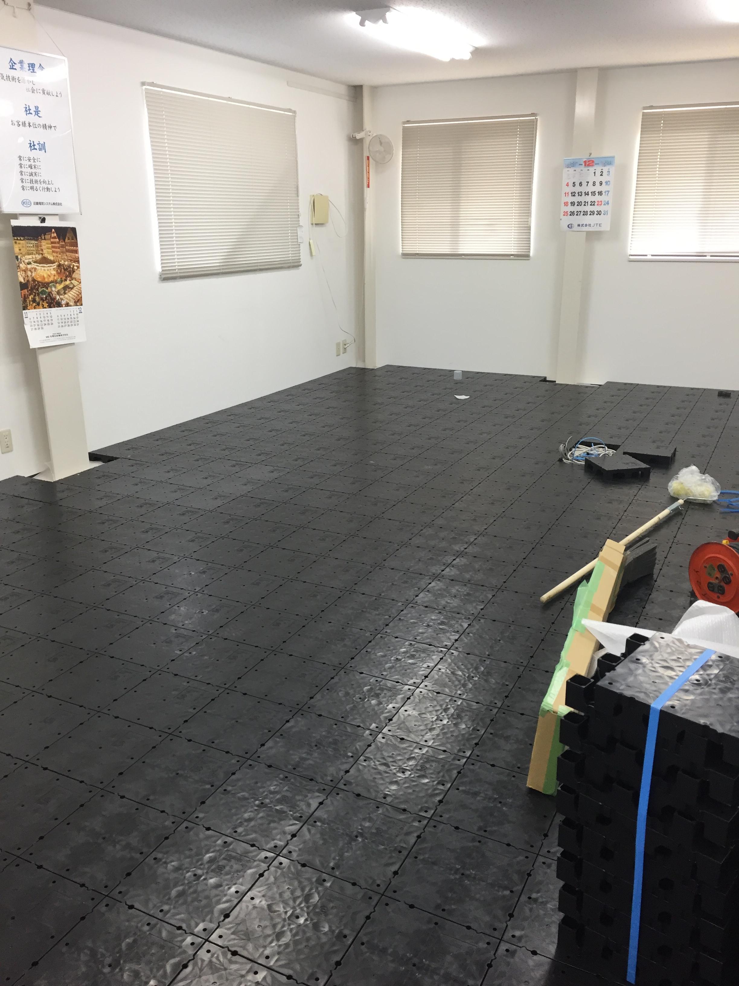 倉庫事務所防寒改修工事