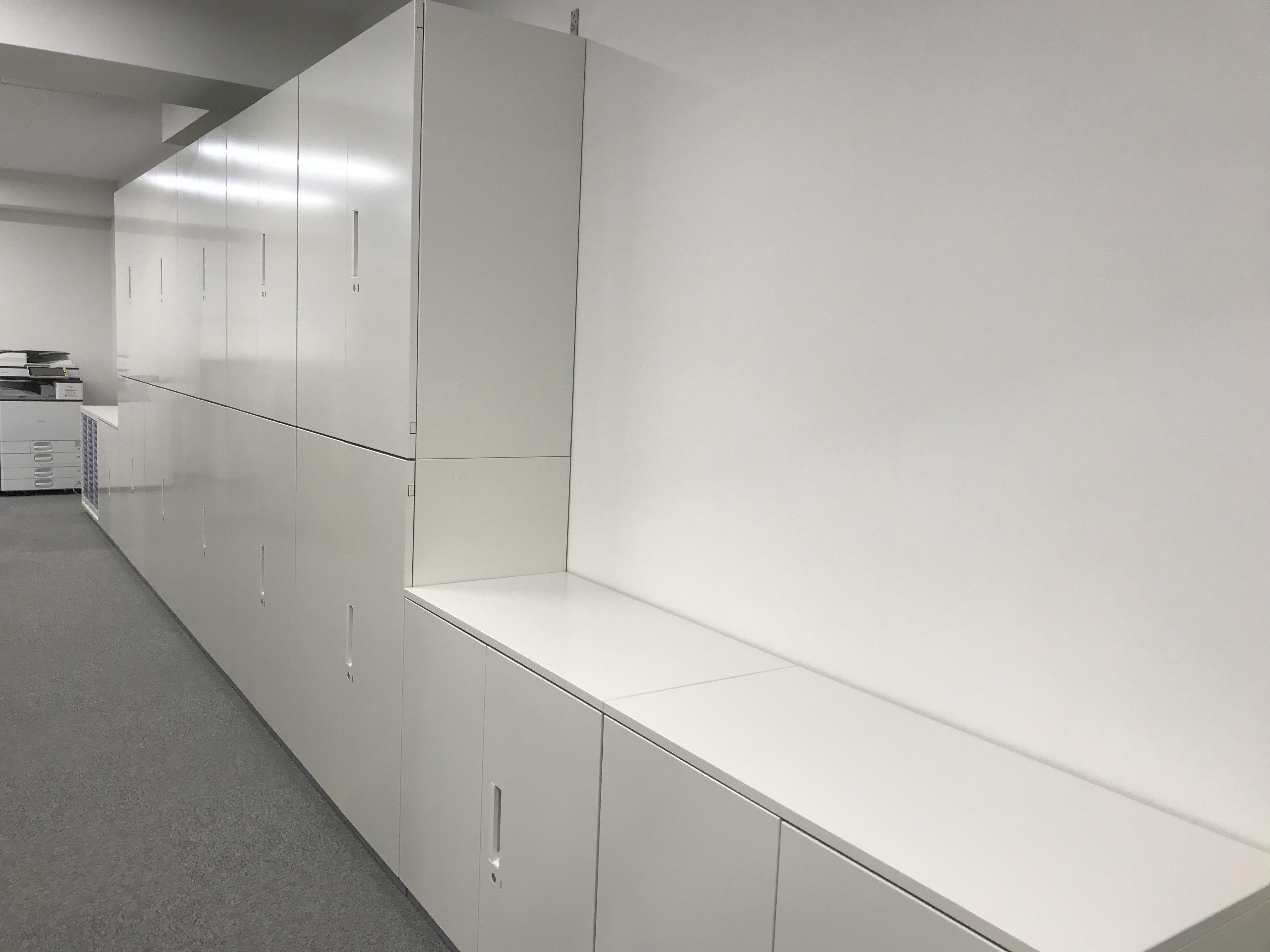 壁面収納家具施工事例