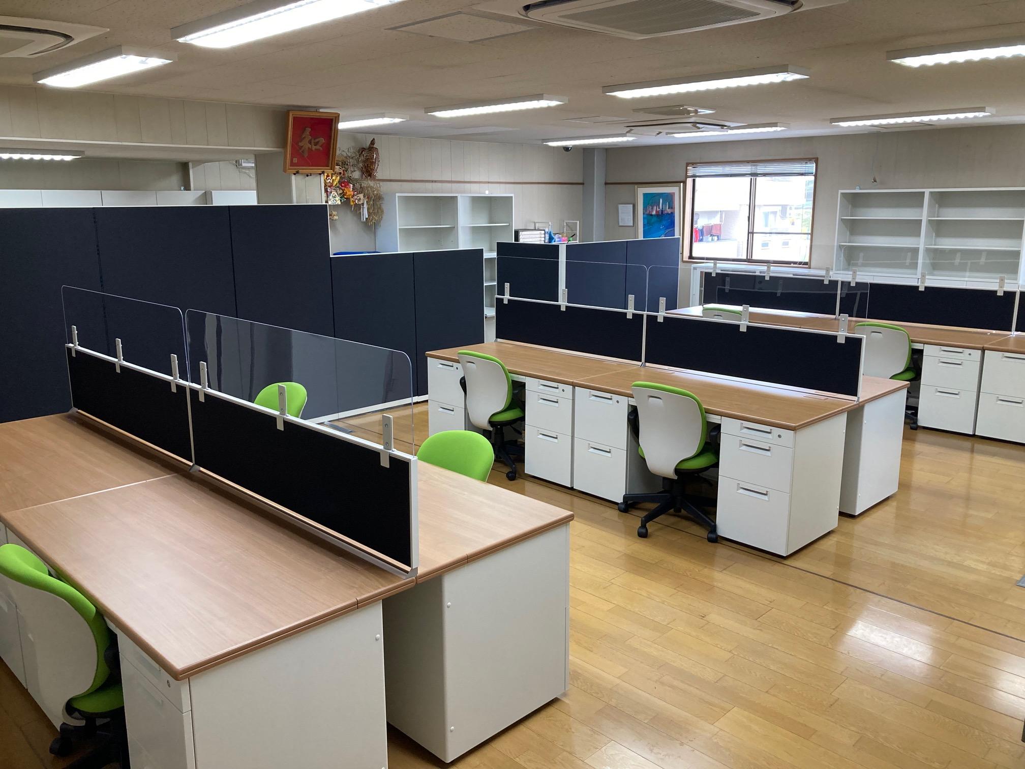 オフィス家具リニューアル工事